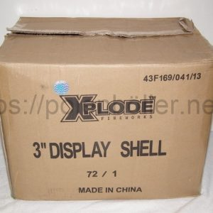 Karton 3 Zoll Shells