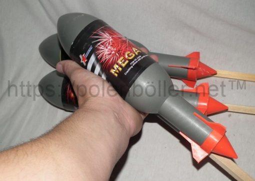 Mega 3 Rakete